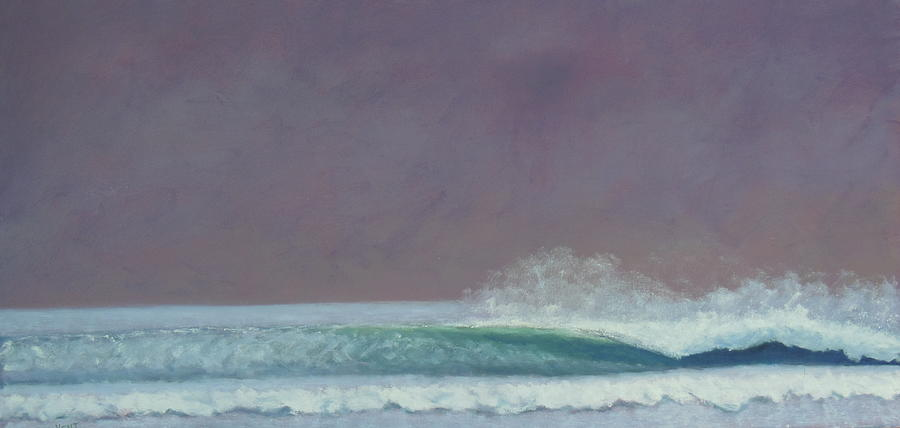 Ocean Painting - Perfect Wave by Kent Pace