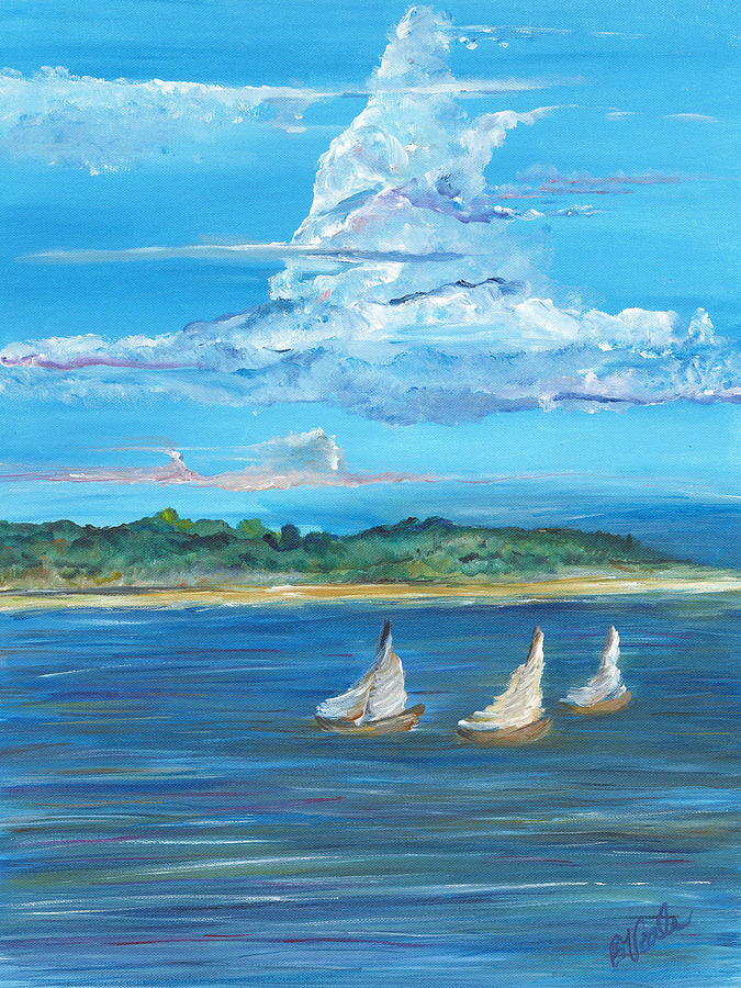 Island Painting - Perfection by Bev Veals