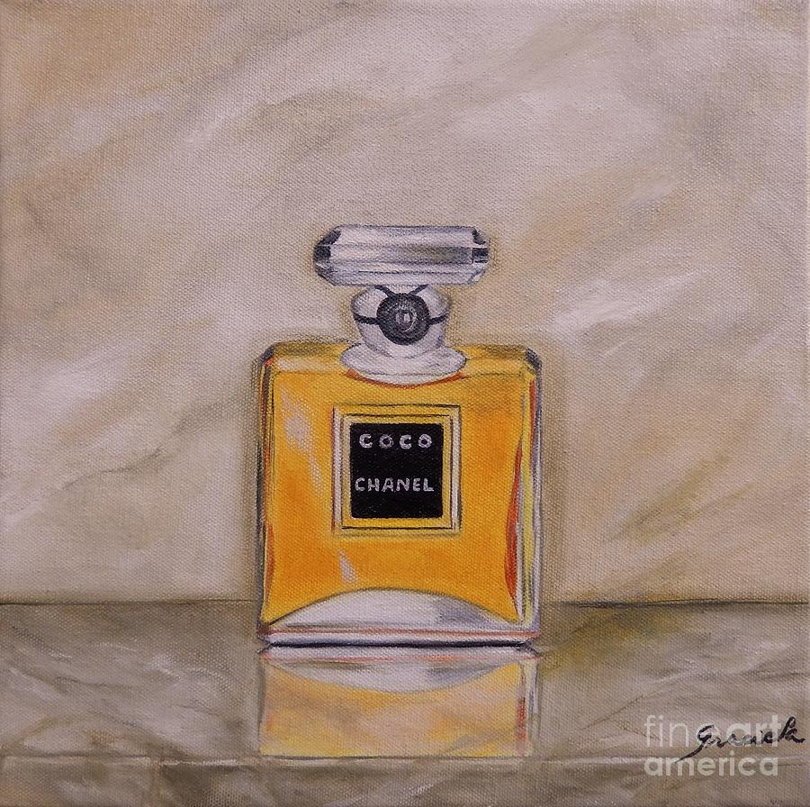 Perfume Chanel Painting By Graciela Castro