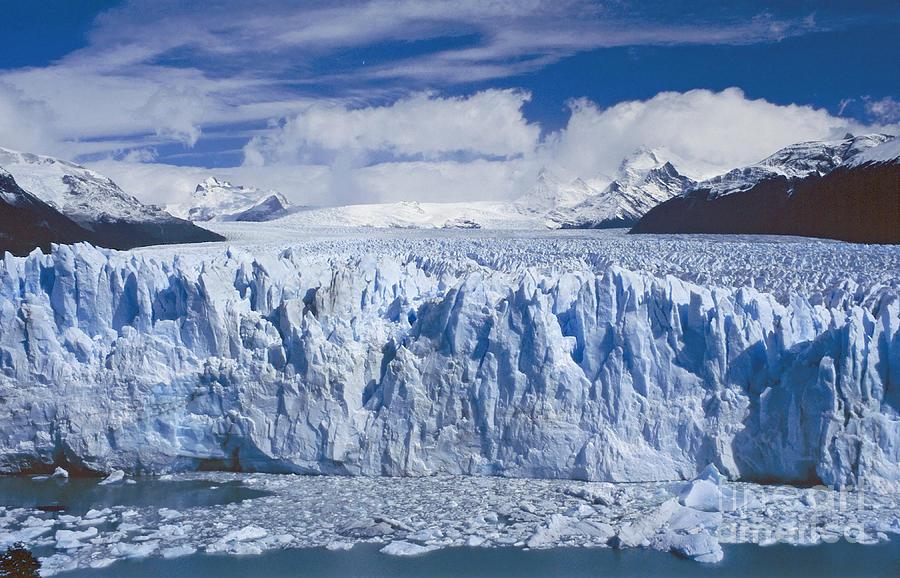 Landscape Photograph - Perito Moreno Glacier Argentina by Rudi Prott