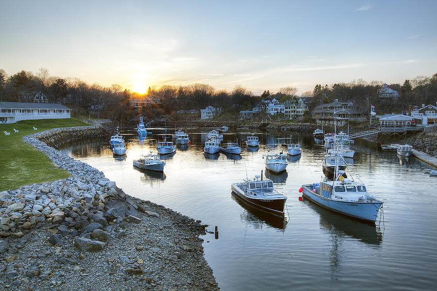 Perkins Cove Photograph - Perkins Cove by Eric Gendron