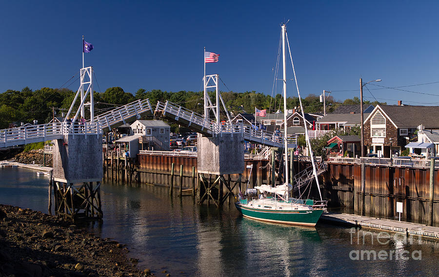 Perkins Cove Ogunquit Maine Photograph By Jerry Fornarotto