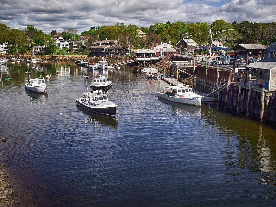 Perkins Cove by Pamela Hodgdon