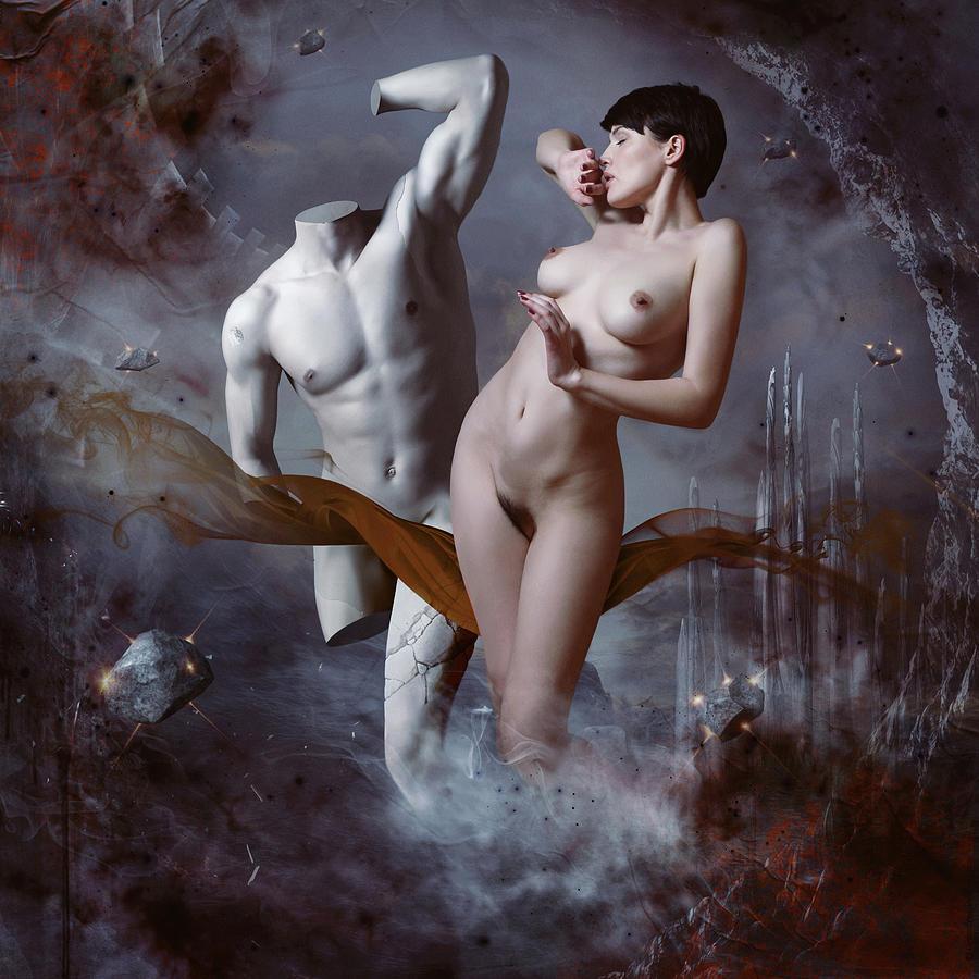 Woman Photograph - Perseus And Andromeda by Igor_voloshin