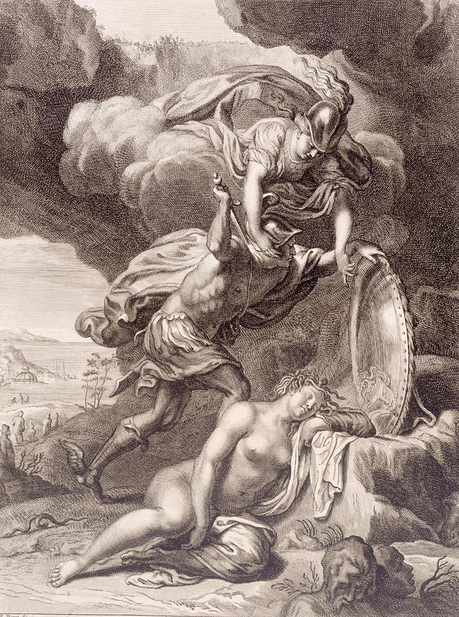 Perseus Cuts Off Medusa S Head