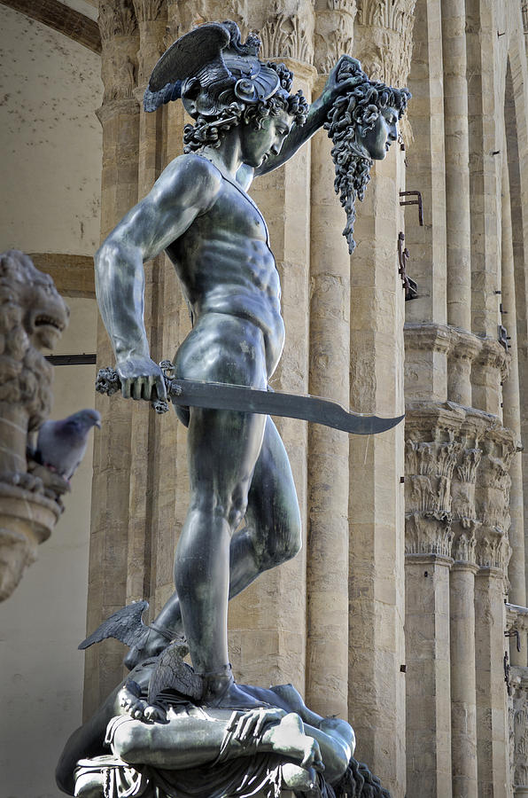 Perseus With Head Of Medusa By Cellini