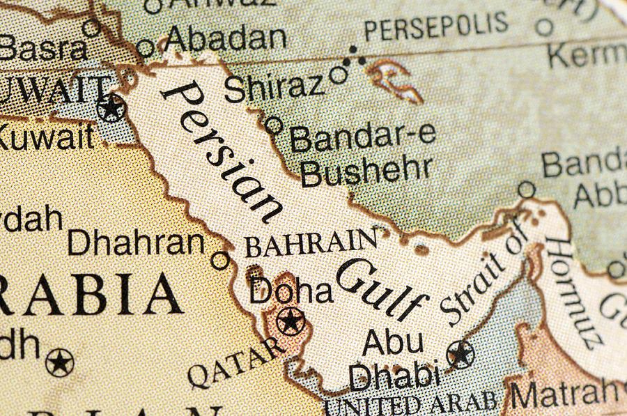 Persian Gulf Photograph by KeithBinns