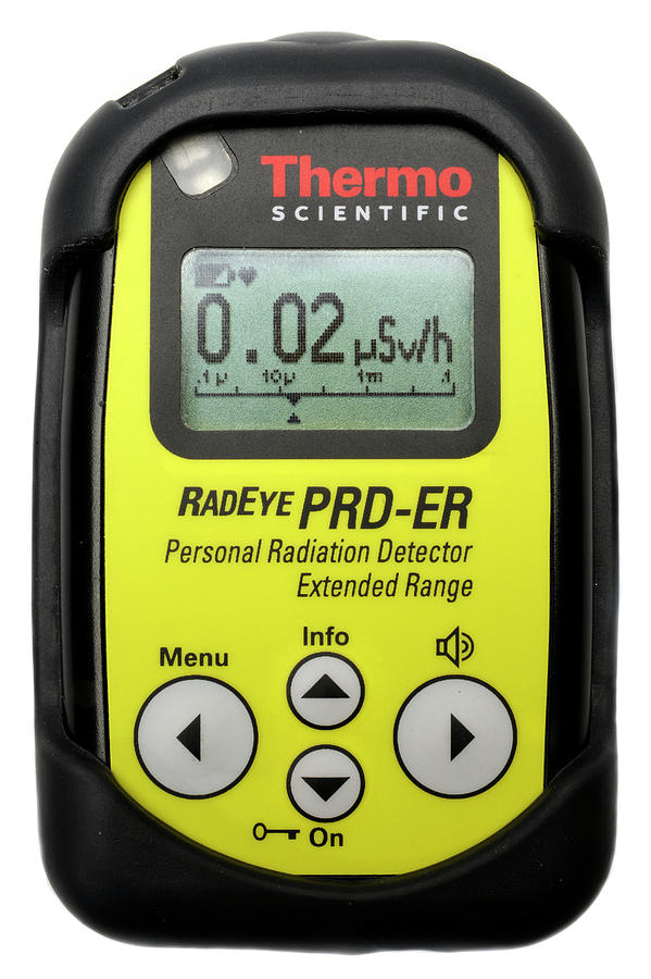 Nobody Photograph - Personal Radiation Detector by Public Health England