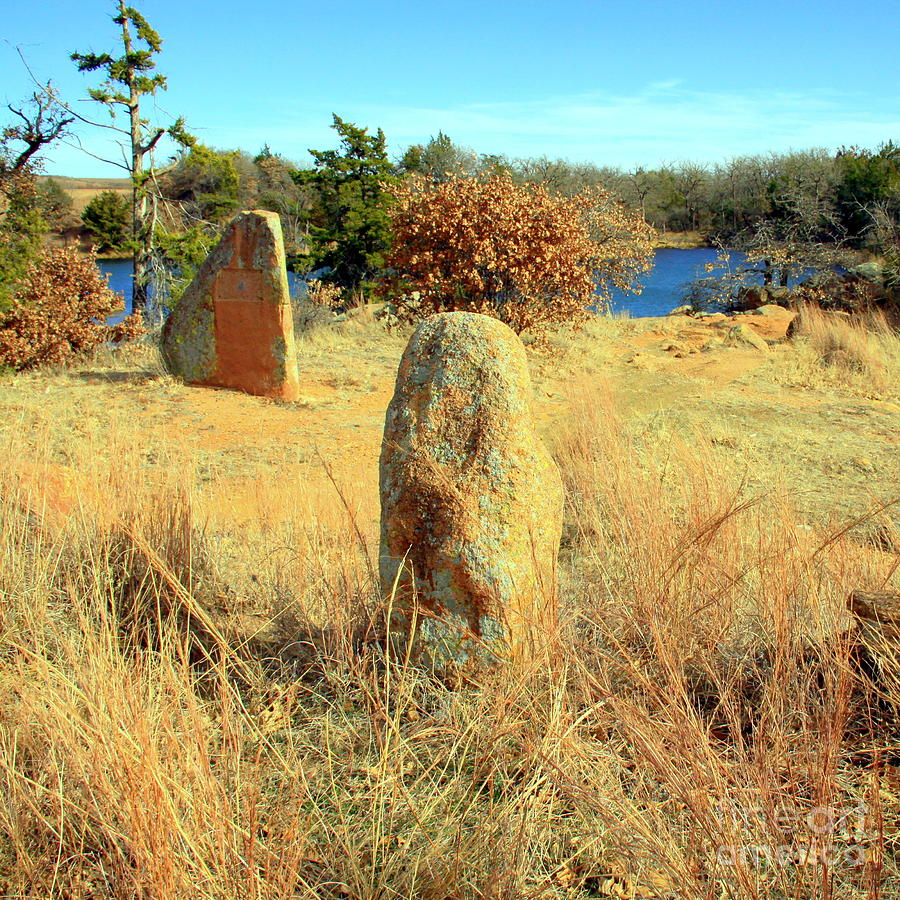 Standing Boulders Photograph - Perspective 2 by Mickey Harkins