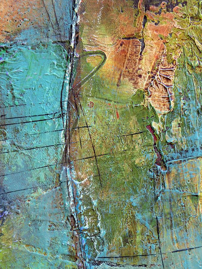 Katie Painting - Perspective by Katie Black