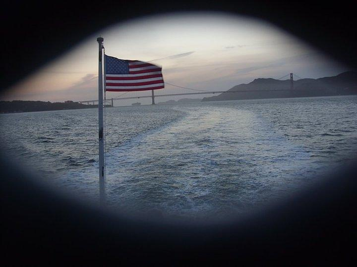 Flag Photograph - Perspective Liberty by Misty Herrick