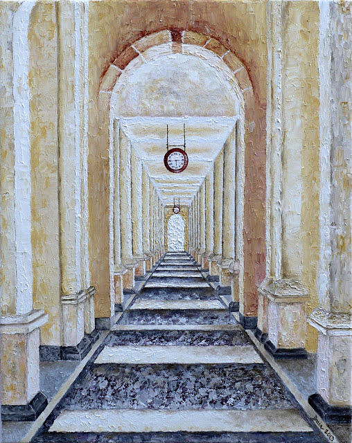 Time Painting - Perspective View by Draia Coralia