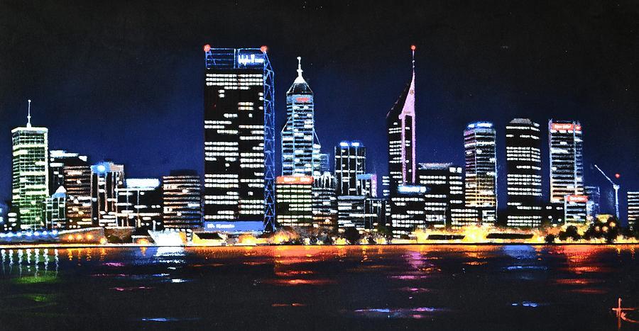 Perth Painting - Perth 3 by Thomas Kolendra