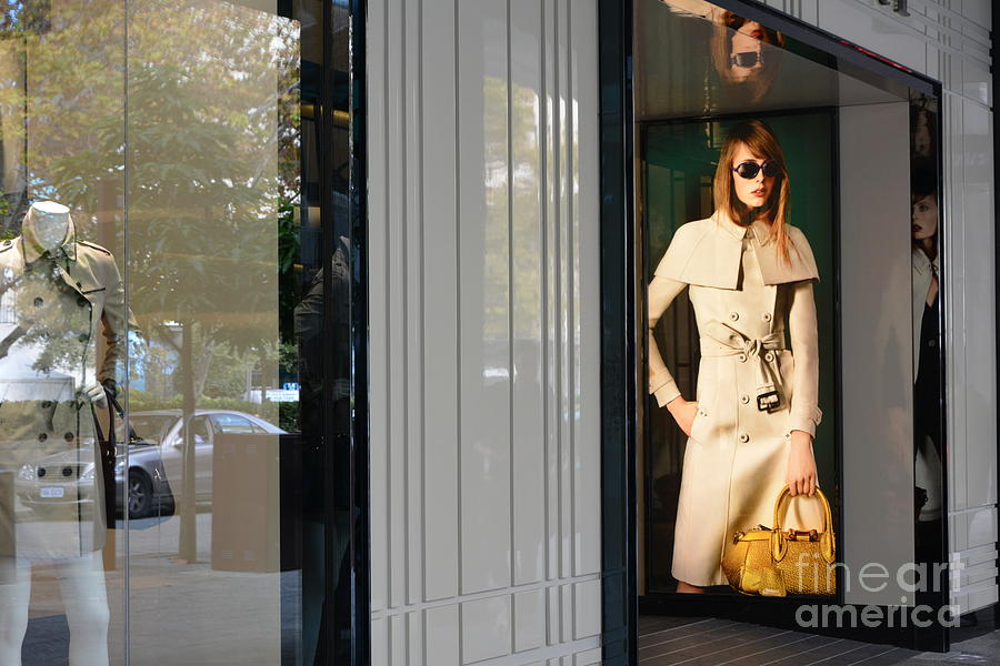 Shopping Centre Digital Art - Perth City by Bobby Mandal