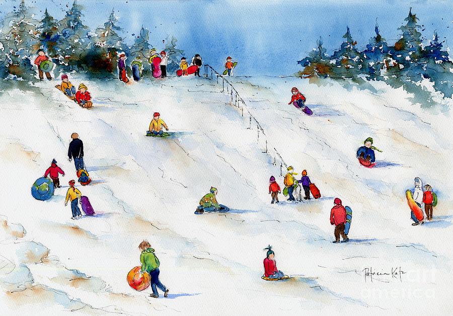Impressionism Painting - Pest Hill by Pat Katz