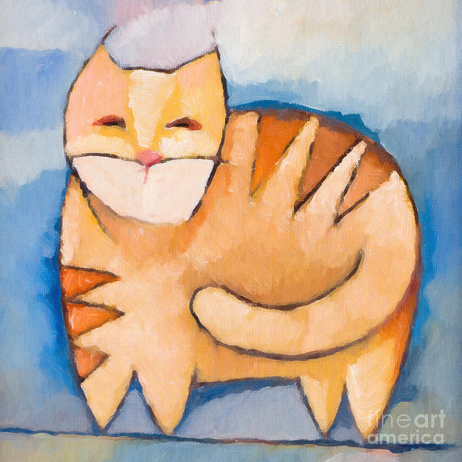 Pet Tiger Painting - Pet Tiger by Lutz Baar