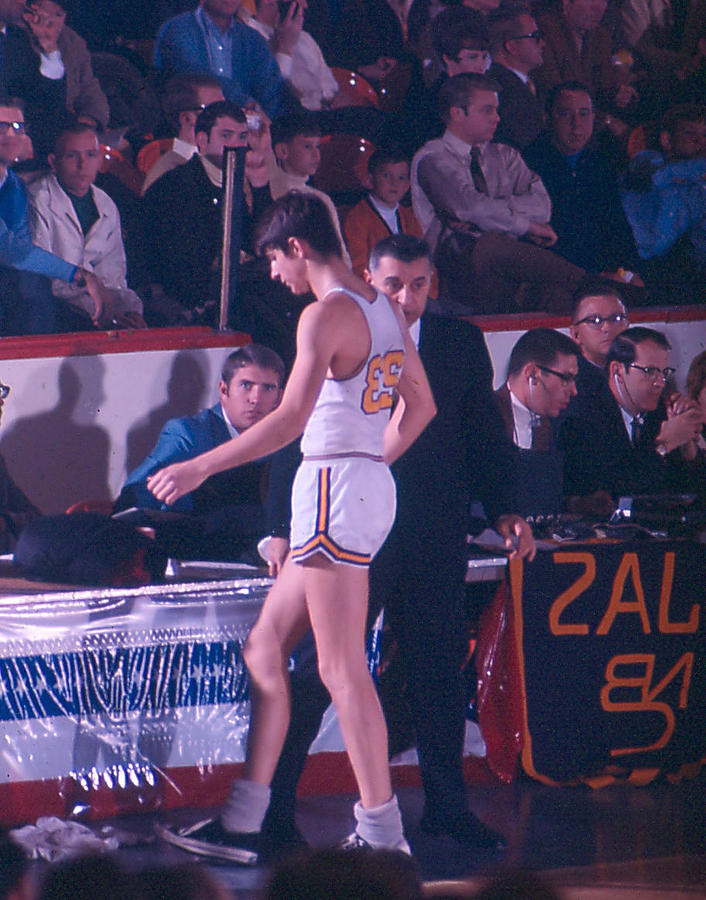 Classic Photograph - Pete Maravich Going To Sidelines by Retro Images Archive