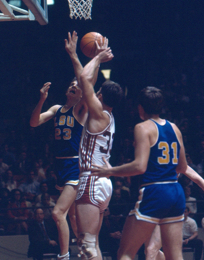 Classic Photograph - Pete Maravich In Traffic by Retro Images Archive