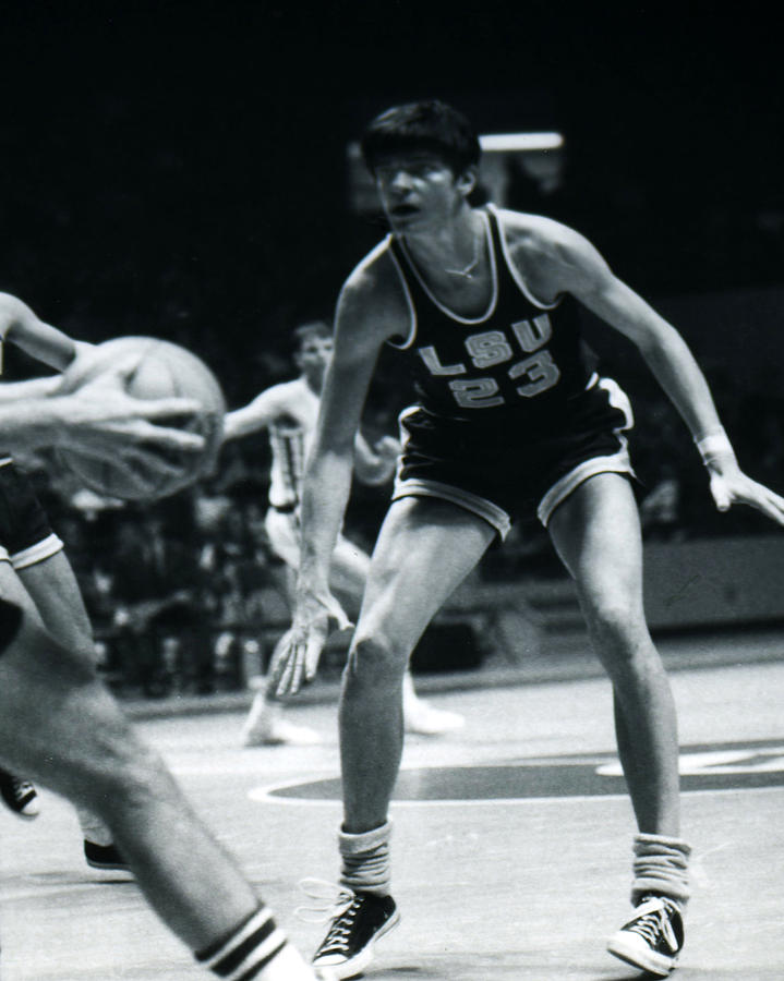Classic Photograph - Pete Maravich Playing Defense by Retro Images Archive