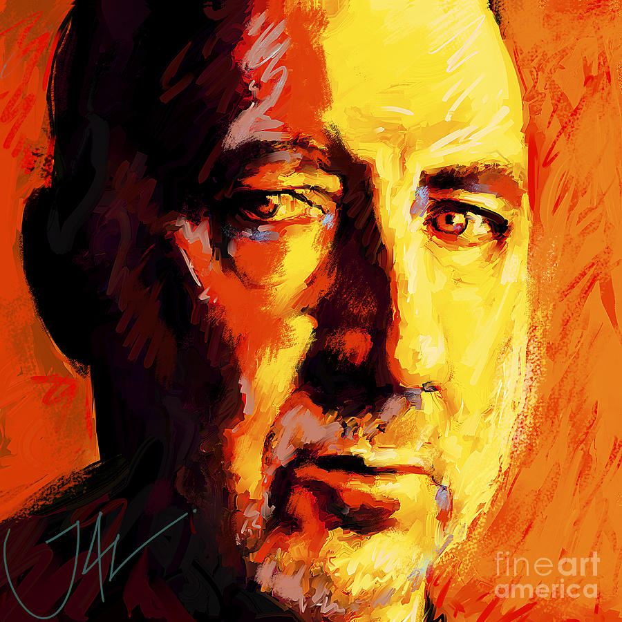 The Who Digital Art - Pete Towsend by John Lowther