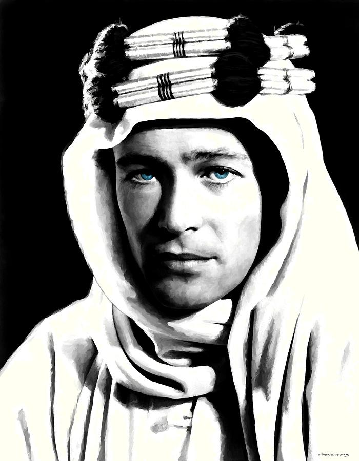 Peter O'toole Digital Art - Peter OToole Portrait by Gabriel T Toro