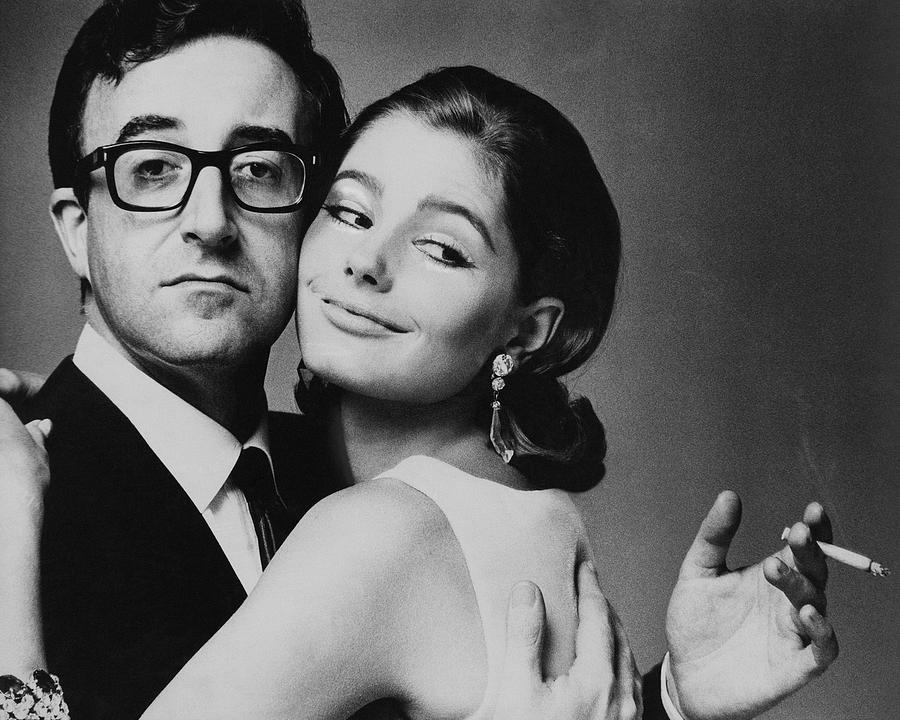 Peter Sellers Posing With A Model Photograph by Jereme Ducrot