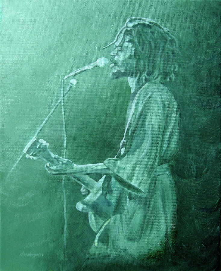 Peter Tosh Painting - Peter Tosh 1 by Michael Morgan