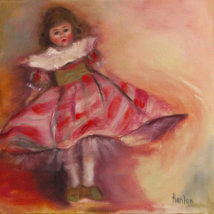 Madame Alexander Painting - Petite Cisette by Susan Hanlon