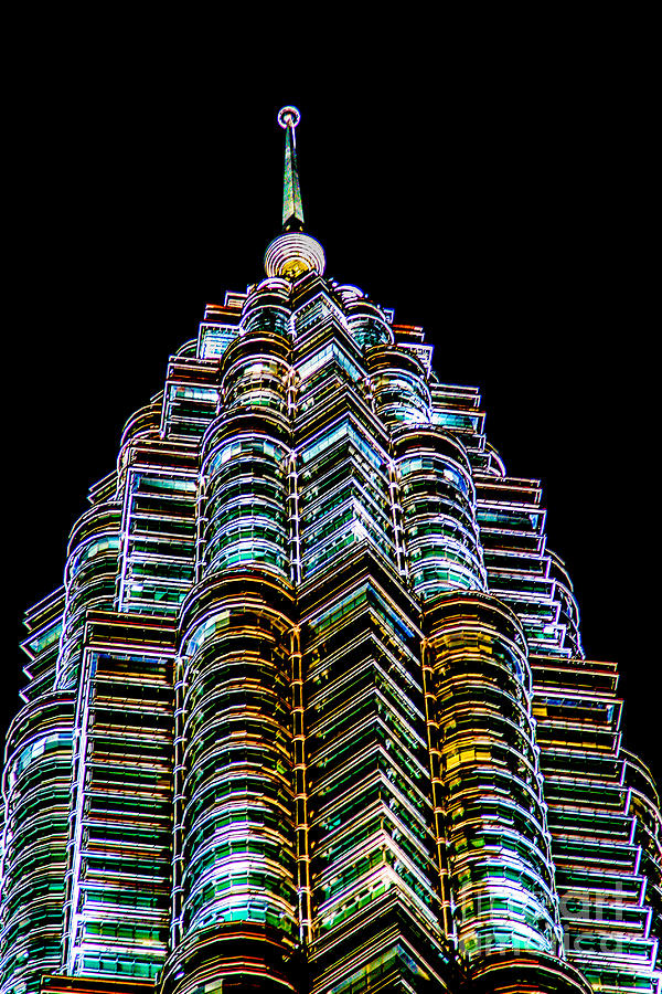 451.9 M Photograph - Petronas Tower by Adrian Evans