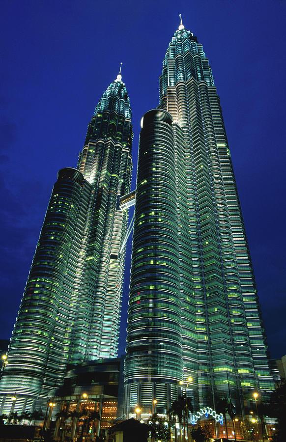 Petronas Towers Photograph by John Elk