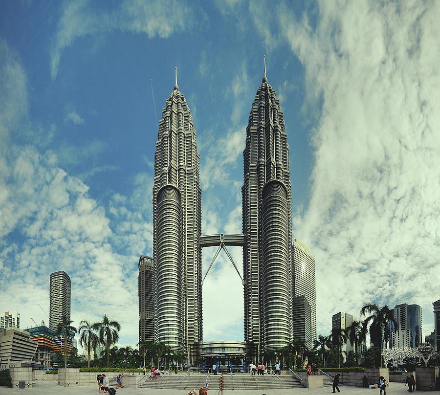 Petronas Twin Towers Photograph by Alex Grabchilev / Evgeniya Bakanova
