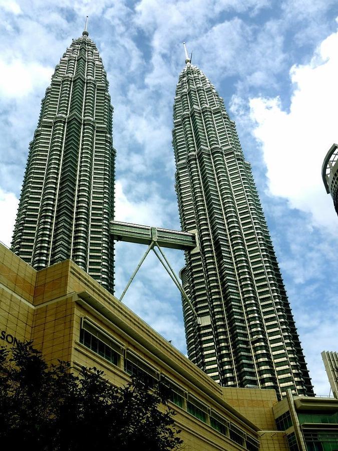 Petronas Twin Towers Photograph - Petronas Twin Towers Kuala Lumpur Malaysia  by Sivaanan Balachandran