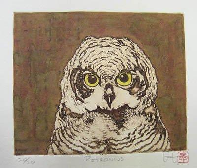 Owl Relief - Petronius by Les Love
