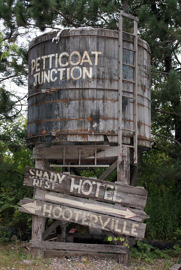 Petticoat Junction Photograph - Petticoat Junction by Kristin Elmquist