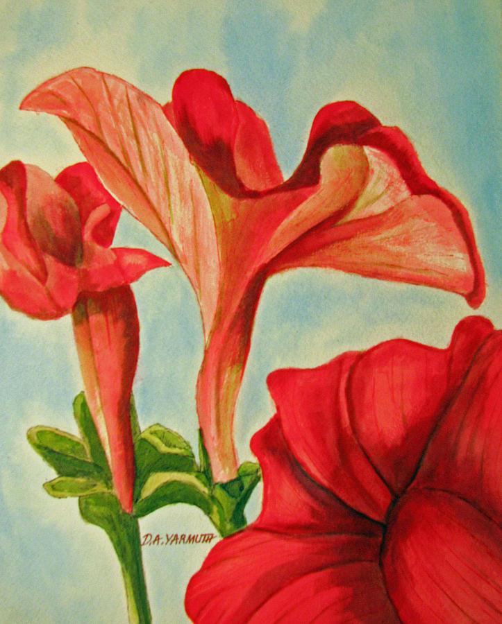 Petunia Glory by Dale Yarmuth