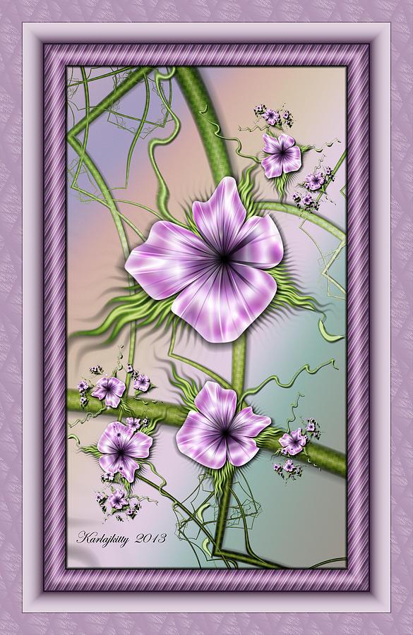 Petunias by Karla White