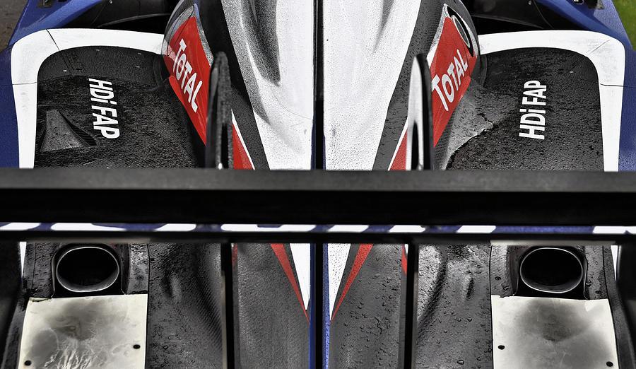Racing Photograph - Peugeot Endurance Racing Car by Dutourdumonde Photography