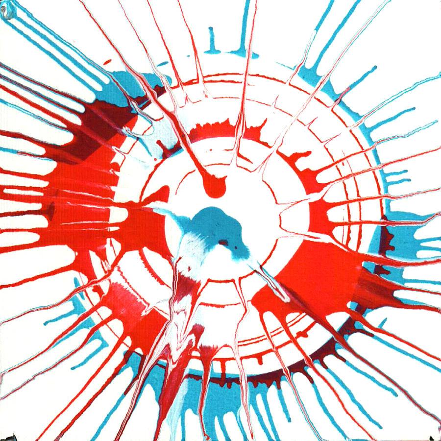 Starburst Painting - Peyton by Gabe Arroyo