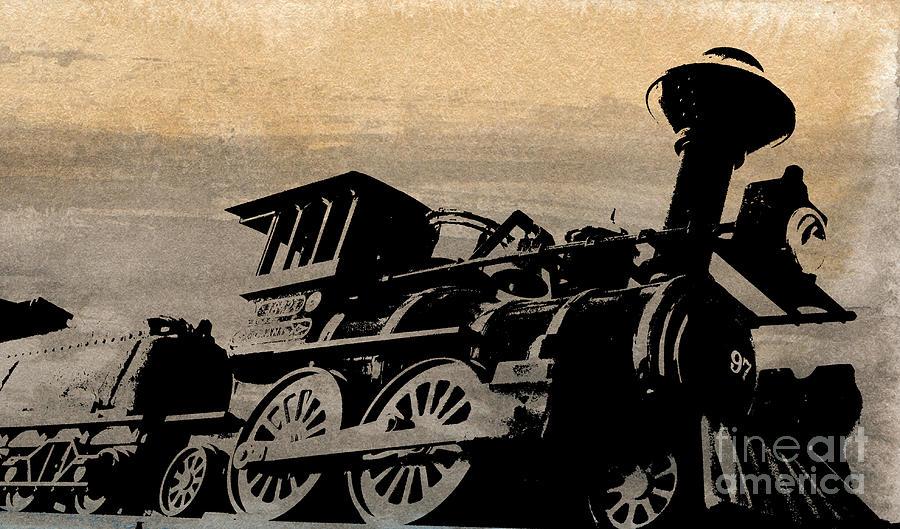 Phantom On Rails Painting by R Kyllo
