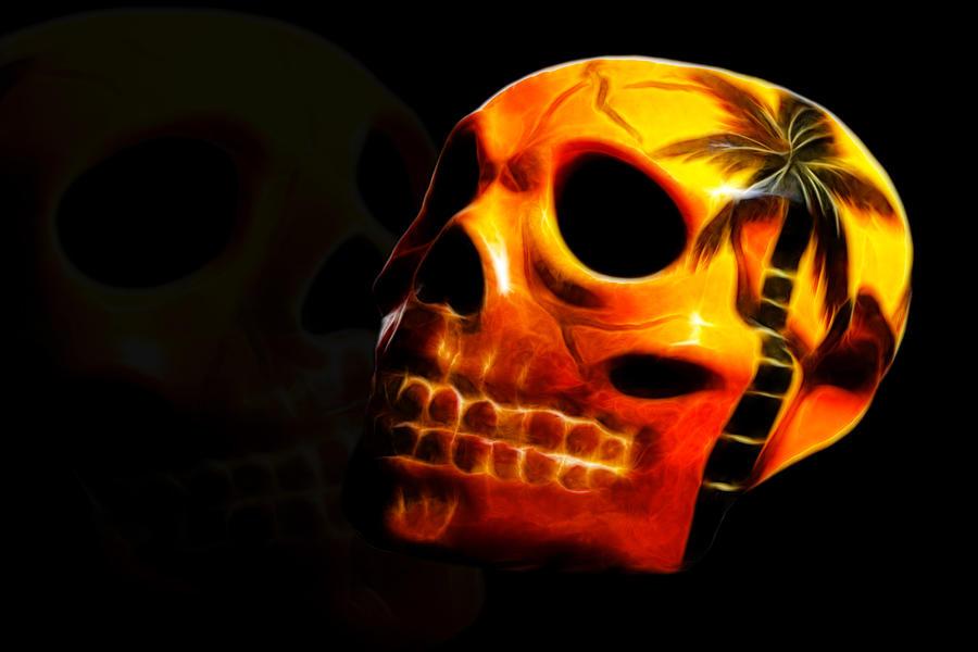 Skull Photograph - Phantom Skull by Shane Bechler