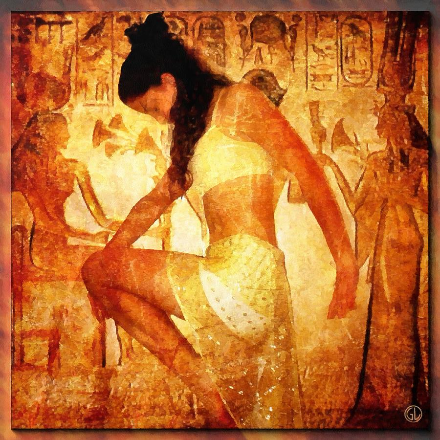Woman Digital Art - Pharaohs Daughter by Gun Legler