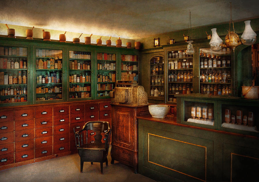 Pharmacy Photograph - Pharmacy - Patent Medicine  by Mike Savad
