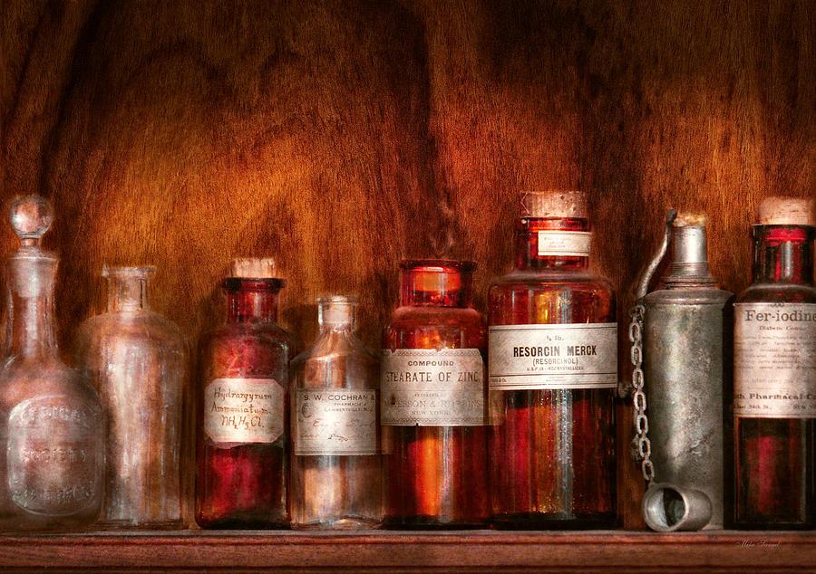 Pharmacist Photograph - Pharmacy - Pharmacists Fancy Fluids by Mike Savad