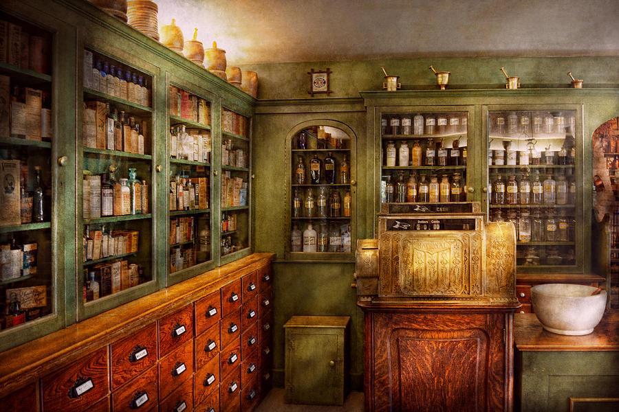 Doctor Photograph - Pharmacy - Room - The Dispensary by Mike Savad