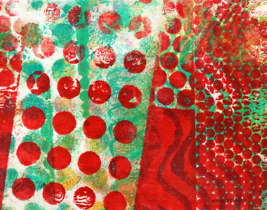 Abstract Paintings Painting - Phase Series - Change by Moon Stumpp