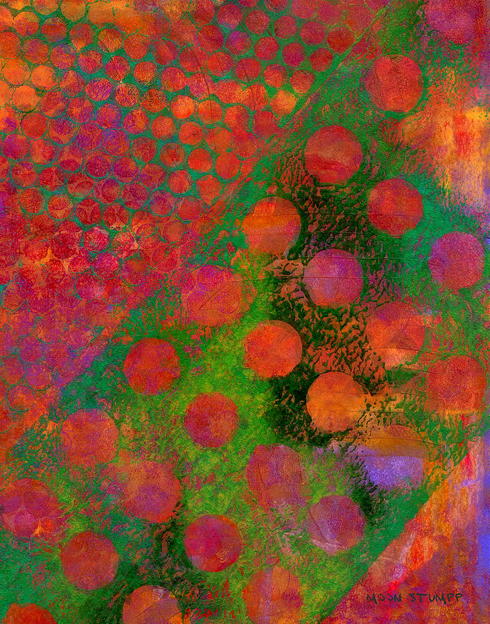 Abstract Paintings Painting - Phase Series - Direction by Moon Stumpp