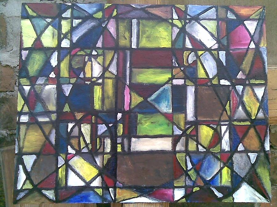 Abstract Painting - phi by Lazar Caran