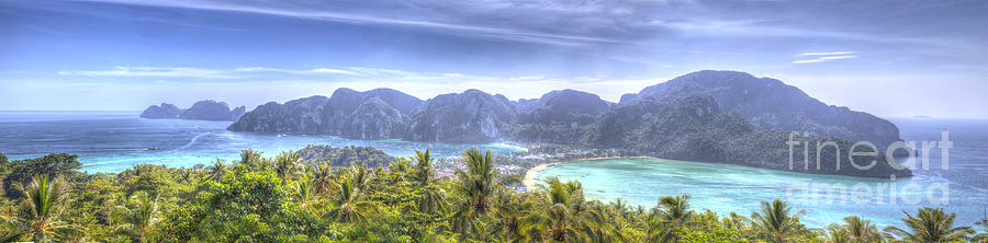 Phi Phi Photograph - Phi Phi Island by Alex Dudley