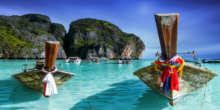 Andaman Sea Photograph - Phi Phi Islands by Shannon Rogers