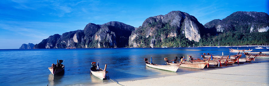 Color Image Photograph - Phi Phi Islands Thailand by Panoramic Images
